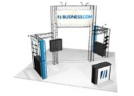 20x20 Turnkey Trade Show Booth Rental | SAPPHIRE