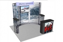 Truss Booth | Tahoe 10' Trade Show Display