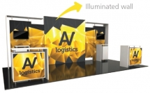 20' Hybrid Pro Modular Display Rental - Kit 11