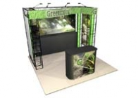 10x10 Turnkey Trade Show Booth Rental | ONYX