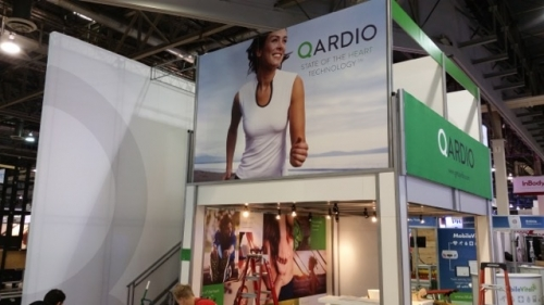 Quardio CES trade show display - Iconic Displays