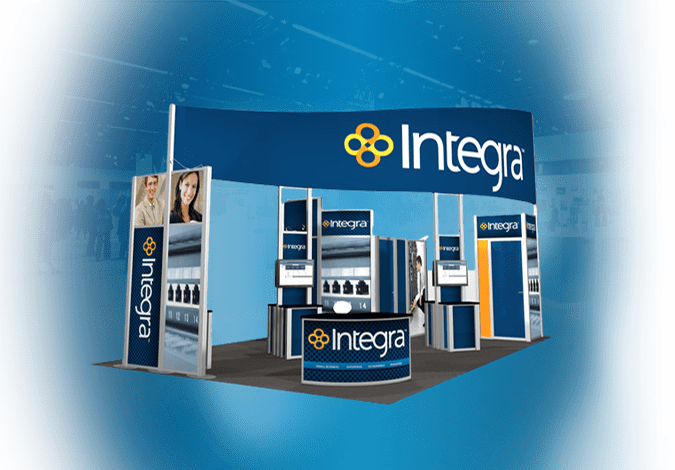 Trade Show Booth Graphic Design : Portable trade show displays booths & exhibits iconic displays