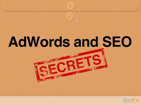 Adwords and SEO Secrets