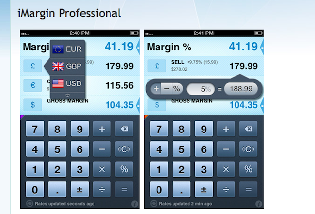 iMargin Professional